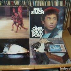 Discos de vinilo: LOTE 7 LP'S LINDA RONSTADT.-.- PAUL SIMON.- JONI MITCHELL. Lote 200581388