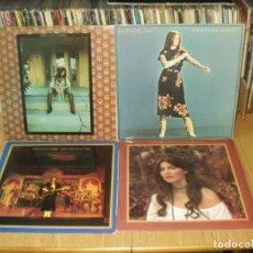 Discos de vinilo: LOTE 8 LP'S EMMYLOU HARRIS.- CARLY SIMON. Lote 200582377