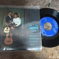 Discos de vinilo: URUNE TA ANDONI ARGOITIA / EUSKALHERRI MAITEA ( L.AGUILE) EP 45 RPM / CINSA 1968. Lote 200582453
