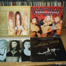Discos de vinilo: LOTE 8 LP'S MODERN TALKING.- BANANARAMA.. . Lote 200582796