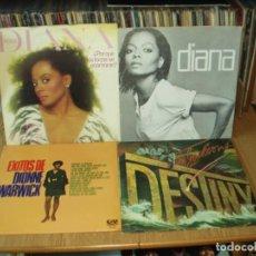 Discos de vinilo: LOTE 8 LP'S JACKSONS.- DIANA ROSS. Lote 200583162