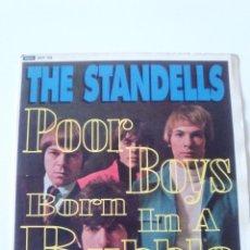 Discos de vinilo: THE STANDELLS POOR BOYS BORN IN A RUBBLE SOMETIMES GOOD GUYS + 3 ( 1995 SUNDAZED USA ) VINILO GRIS. Lote 200583431