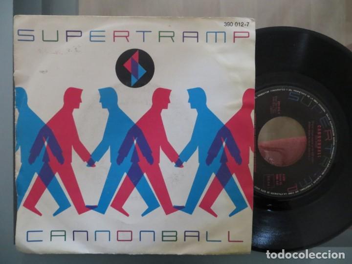 SUPERTRAMP: CANNONBALL (SINGLE ESPAÑOL) (Música - Discos de Vinilo - Singles - Pop - Rock Extranjero de los 80)
