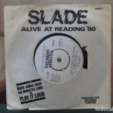 Discos de vinilo: SLADE ALIVE AT READING EP CHEAPSKATE CHEAP5 EX/EX 1979 PICTURE SLEEVE. Lote 200586937