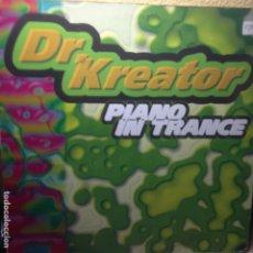 Discos de vinilo: DR KREATOR - PIANO IN TRANCE - NOISEMAKER - 1996 - MAXI. Lote 200597432