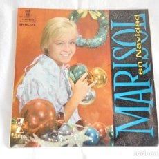 Discos de vinilo: MARISOL - SINGLE VINILO - EN NAVIDAD - VINILO MULTICOLOR (VER FOTOS). Lote 200597482