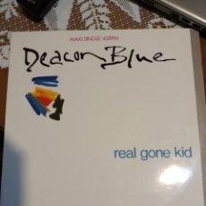 Discos de vinilo: DEACON BLUE REAL GONE KID MAXI SINGLE. Lote 200600756