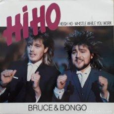 Discos de vinilo: BRUCE Y BONGO - HIHO. Lote 200606942