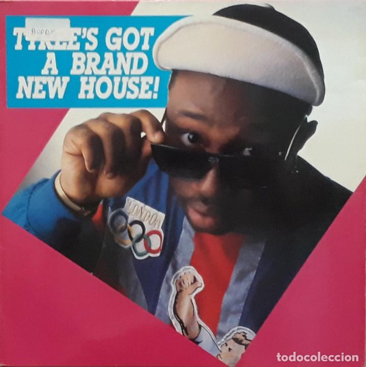 TYREE COOPER - TYREE'S GOT A BRAND NEW HOUSE! (Música - Discos - LP Vinilo - Techno, Trance y House)