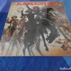 Discos de vinilo: LP FUNK SOLUL LAKESIDE ROUGH RIDERS SOLAR MUSIC USA 70S ACUSA CIERTO USO TOLERABLE. Lote 200612785