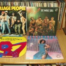 Discos de vinilo: LOTE DE 7 LP'S Y UN MAXI SINGLE MUSICA DISCO 70'S. Lote 200621045
