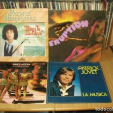 Discos de vinilo: LOTE 7 LP'S Y UN MAXI MUSICA DISCO PATRICK JUVET.- TINA CHARLES.- ETC.... Lote 200621546