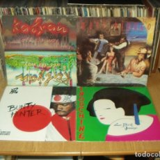 Discos de vinilo: LOTE 8 LP'S INDOCHINE.- TONE LOC.- MATT BIANCO. Lote 200622015