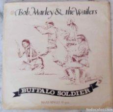 Discos de vinilo: BOB MARLEY & THE WAILERS. BUFFALO SOLDIER. MAXI SINGLE ESPAÑA 2 TEMAS. Lote 200622230