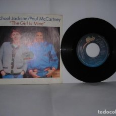 Discos de vinilo: MICHAEL JACKSON PAUL MCCARTNEY THE GIRL IS MINE. Lote 200622765
