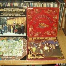 Discos de vinilo: LOTE 8 LP'S FOLK MUSICA CELTA. Lote 200637547
