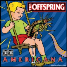 Disques de vinyle: LP THE OFFSPRING AMERICANA VINILO. Lote 213102071