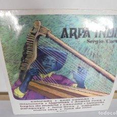 Discos de vinilo: ARPA INDIA. SERGIO CUEVAS. LP VINILO. MOVIEPLAY 1968. Lote 200647658