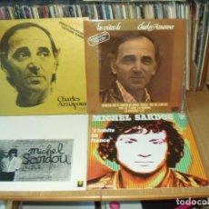 Discos de vinilo: LOTE 7 LP'S SOLISTAS FRANCESES. Lote 200655911