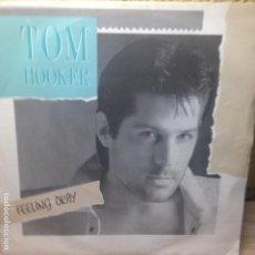 Discos de vinilo: TOM HOOKER - FEELING OKAY - MAX MUSIC - SINGLE. Lote 200661356