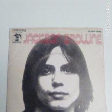 Discos de vinil: JACKSON BROWNE DOCTOR MY EYES / LOOKING INTO YOU ( 1972 ASYLUM RECORDS ESPAÑA ). Lote 200662130