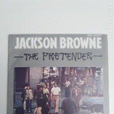 Discos de vinil: JACKSON BROWNE THE PRETENDER / DADDY'S TUNE ( 1977 HISPAVOX ESPAÑA ). Lote 200662458