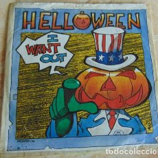 Disques de vinyle: HELLOWEEN – I WANT OUT - SINGLE 1988. Lote 200732513