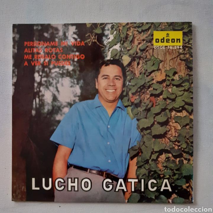LUCHO GATICA. PERDÓNAME MI VIDA. EP. ODEON DSOE 16.594. 1964. FUNDA VG++. DISCO VG++. (Música - Discos de Vinilo - EPs - Grupos y Solistas de latinoamérica)