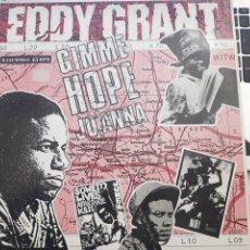 Discos de vinil: EDDY GRANT - GIMME HOPE JO'ANNA (12, MAXI) PARLOPHONE 549 20 2514 COMO NUEVO. Lote 200738775