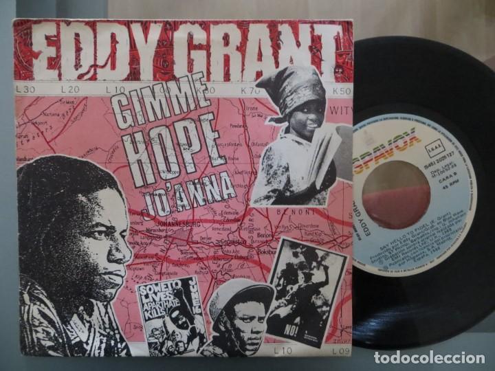 EDDY GRANT: GIMME HOPE JO'ANNA (SINGLE ESPAÑOL) (Música - Discos de Vinilo - Singles - Pop - Rock Extranjero de los 80)