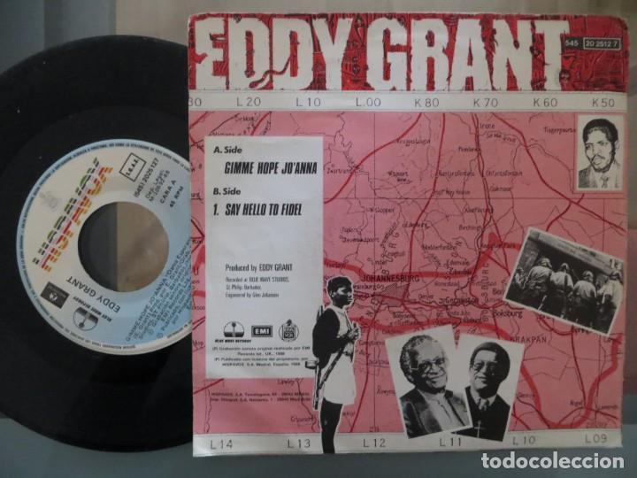 Discos de vinilo: EDDY GRANT: GIMME HOPE JOANNA (SINGLE ESPAÑOL) - Foto 2 - 200746818
