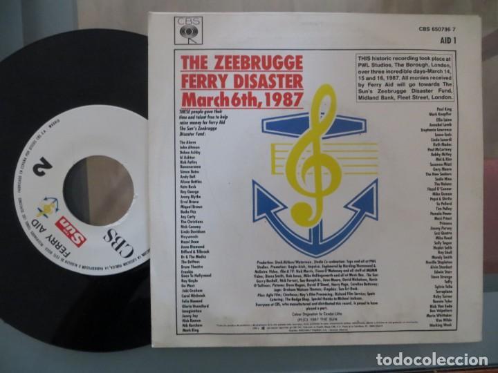 Discos de vinilo: FERRY AID: LET IT BE (BEATLES-DIRE STRAITS-BOY GEORGE...) - Foto 2 - 200747530