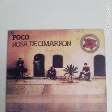 Disques de vinyle: POCO ROSA DE CIMARRON / TULSA TURNAROUND ( 1977 ABC RECORDS ESPAÑA ) ROSE OF CIMARRON. Lote 200753851