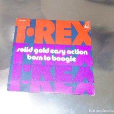 Discos de vinilo: T. REX ------SOLID GLD EASY ACTION & BORN TO BOOGIE EDICION 1972-- ( NM OR M- ). Lote 179091467