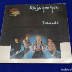 Discos de vinilo: KAJAGOOGOO - ISLANDS. Lote 200769100