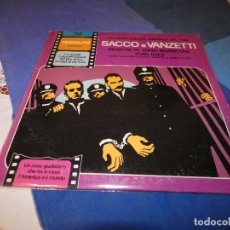 Discos de vinilo: DESDE 1,95 EUROS. LP BSO DE LA PELI SACCO E VANCETTI CON JOAN BAEZ BUEN ESTADO. Lote 200775910