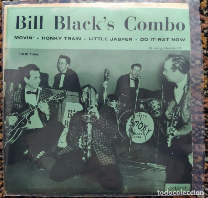 BILL BLACK'S COMBO - BILL BLACK'S COMBO (7, EP) (LONDON RECORDS) EDGE 71844 (D:NM) (Música - Discos de Vinilo - EPs - Rock & Roll)