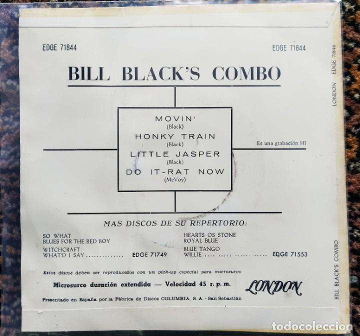 Discos de vinilo: Bill Blacks Combo - Bill Blacks Combo (7, EP) (London Records) EDGE 71844 (D:NM) - Foto 2 - 200776180