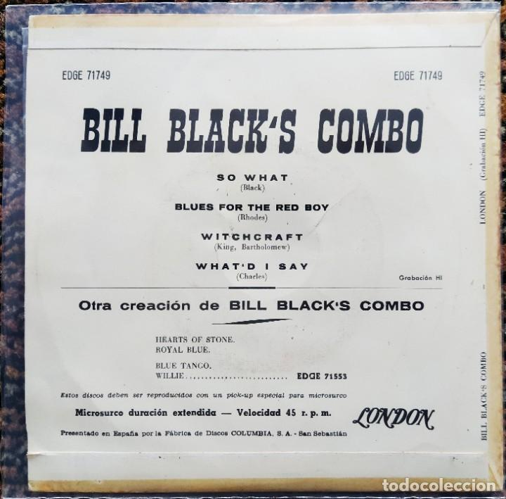 Discos de vinilo: Bill Blacks Combo - Twist (EP) (Hi Records)EDGE 71749 (D:NM) - Foto 2 - 200776211