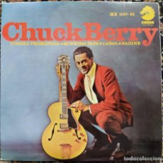 Discos de vinilo: CHUCK BERRY - PROMISED LAND (EP) (HISPAVOX)	HX 007-61 (D:NM). Lote 200776328