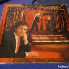 Discos de vinilo: DESDE 1,95 EUROS LP BUEN ESTADO VICTOR MANUEL EL LANZADOR DE CUCHILLOS BUEN ESTADO 1984. Lote 200776990