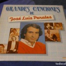 Discos de vinilo: DESDE 1,95 EUROS LP DOBLE LP JOSE LUIS PERALES 1983 LEVES SEÑALES DE USO AUN MUY CORRECTO. Lote 200777286