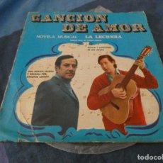 Discos de vinilo: DESDE 2 EUROS LP 10 PULGADAS LA LECHERA AÑO 1969 NOVELA MUSICAL DISCO EN ESTADO DECENTE. Lote 200778330