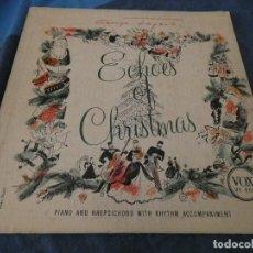 Discos de vinilo: DESDE 2 EUROS LP 10 PULGADAS GEORGE FEYER ECHOES OF CHRISTMAS USA 1955 ESTADO CORRECTO. Lote 200778697