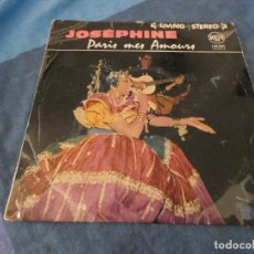 Discos de vinilo: DESDE 2 EUROS LP 10 PULGADAS JOSEPHINE BAKER PARIS MON AMOUR MUY ANTIGUO VINILO BASTANTE USO BLUE. Lote 200779397