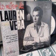 Disques de vinyle: E P ( VINILO) DE LAUREN VERA AÑOS 60. Lote 200783073