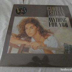 Discos de vinilo: DESDE 2 EUROS: GLORIA ESTEFAN ANYTHING FOR YOU CON MIAMI SOUND MACHINE 1987 BUEN ESTADO. Lote 200784247