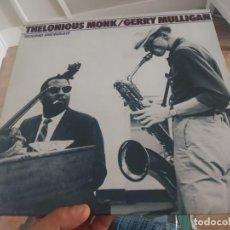 Discos de vinilo: LP DOBLE USA THELONIOUS MONK GERRY MULLIGAN ROUND MIDNIGHT VG++/EX. Lote 200790757