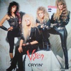 Discos de vinilo: VIXEN: CRYIN' (MAXI-SINGLE). Lote 200811246