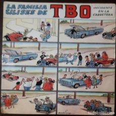 Disques de vinyle: LA FAMILIA ULISES DE TBO* – INCIDENTE EN LA CARRETERA. Lote 200811876